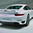 Постер, плакат: FRANKFURT SEPT 14: Porsche 911 Turbo S presented as world prem