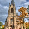 Old Catholic church, Fulda, Hessen, Germany — Foto de Stock