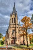 Old Catholic church, Fulda, Hessen, Germany — Stock Photo