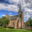 Christus Kirche (Church), Fulda, Hessen, Germany — Foto de Stock