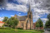 Christus Kirche (Church), Fulda, Hessen, Germany — Stock Photo