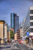 FRANKFURT, GERMANY - JUL 12: Maintower Skyscraper — Stock Photo