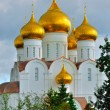 Assumption Cathedral with golden domes, Yaroslavl, Russia — Stock Photo