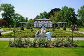 парк palmen garten, франкфурт-на-майне, гессен, германия — Стоковое фото