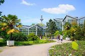 Nature of Palmen Garten, Frankfurt am Main, Hessen, Germany — Stock Photo