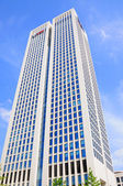 UBS skyscraper, Frankfurt am Main, Hessen, Germany — ストック写真