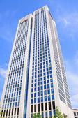 瑞银摩天大楼,河畔法兰克福 hessen 德国 — 图库照片