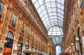 Vittorio Emanuele gallery, Venice, Italy (HDR) — Stock Photo