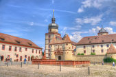 Scherenbergtor in Marienberg Fortress (Castle), Wurzburg, Bayern — Photo