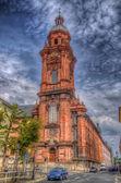 Neubaukirche (Church), Wurzburg, Bayern, Germany — Stockfoto