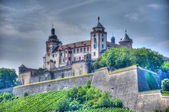 Marienberg Fortress (Castle), Wurzburg, Bayern, Germany — Stock Photo