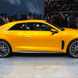 FRANKFURT - SEPT 21: Audi A3 Sport Quattro Concept presented as — Stock fotografie