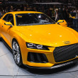 FRANKFURT - SEPT 21: Audi A3 Sport Quattro Concept presented as — Stock Photo