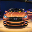 FRANKFURT - SEPT 21: INIFINITY Q50 presented as world premiere a — Stock Photo
