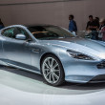 ������, ������: FRANKFURT SEPT 21: Aston Martin DB9 presented as world premier