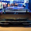 Stock Photo: FRANKFURT - SEPT 21: Peugeot Onyx hybrid supercar (conceptcar)