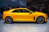 FRANKFURT - SEPT 21: Audi A3 Sport Quattro Concept presented as — Stock Photo