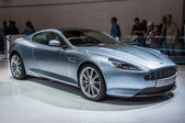 FRANKFURT - SEPT 21: Aston Martin DB9 presented as world premier — Stock Photo