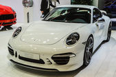 FRANKFURT - SEPT 21: PORSCHE 911 TECHART presented as world pre — Stock Photo