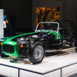 Stock Photo: FRANKFURT - SEPT 21: Caterham Seven 165 prototype presented as w