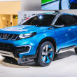 Stockfoto: FRANKFURT - SEPT 21: Suzuki iV-4 Concept presented as world prem