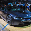 FRANKFURT - SEPT 21: BMW i8 presented as world premiere at 6 — Foto de stock #33451349