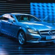FRANKFURT - SEPT 21: Mercedes-Benz CLS Shooting Brake presented — Zdjęcie stockowe #33451679