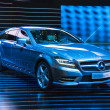 Stock fotografie: FRANKFURT - SEPT 21: Mercedes-Benz CLS Shooting Brake presented