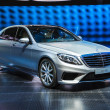 FRANKFURT - SEPT 21: Mercedes-Benz S63 AMG presented as world pr — Foto de stock #33451771