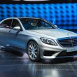 FRANKFURT - SEPT 21: Mercedes-Benz S63 AMG presented as world pr — Foto Stock #33451771