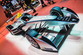 FRANKFURT - SEPT 21: Spark-Renault Formula E Race Car presented — Stock Photo