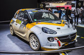 FRANKFURT - SEPT 21: OPEL ADAM RALLY presented as world premiere — Stock Photo