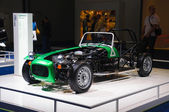 FRANKFURT - SEPT 21: Caterham Seven 165 prototype presented as w — Stock Photo