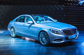 FRANKFURT - SEPT 21: Mercedes-Benz S-Class Coupe presented as wo — Stock Photo