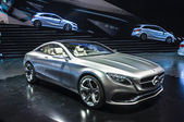 FRANKFURT - SEPT 21: Mercedes-Benz Concept S-Class Coupe present — Stock Photo