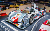 FRANKFURT - SEPT 21: Audi R18 e-tron quattro 01 presented as wor — Stock Photo