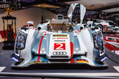 FRANKFURT - SEPT 21: Audi R18 e-tron quattro 01 presented as wor — ストック写真