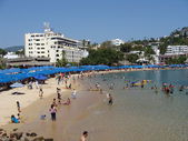 Stranden i acapulco — Stockfoto