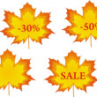 Autumn sale — Stock Vector #12809899