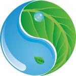 Eco Yin Yang — Stock Vector #22846278