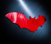 Bat Red — Stock Photo