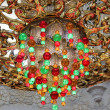 Chandelier inside Sheikh Zayed Grand Mosque — Stock Photo #39410649
