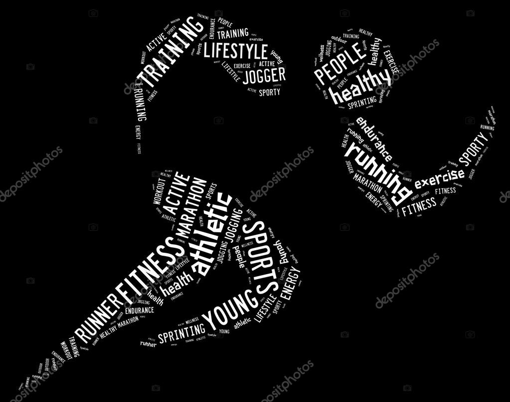 Word Black Background Background And White Words
