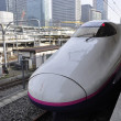 Foto Stock: Bullet train in Japan