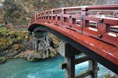 Shinkyo (a sacred bridge) at Nikko, Japan — Stock Photo