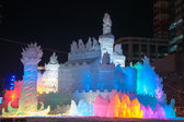 The Land of Ice, Princess of White Wings, Sapporo Snow Festival — Stock Photo