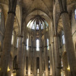 Barcelona - interior from gothic cathedral of Santa Maria del Mar — Stock Photo #13134980