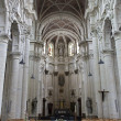BRUSSELS - JUNE 21: Main nave of Saint Johne the Baptist church on June 21, 2012 in Brussels. — Stock Photo