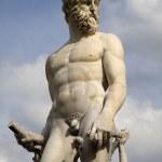 Florence - Neptune fountain from Ammannati 1575 — Stock Photo #13139568