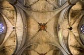 Barcelona - arch from gothic cathedral of Santa Maria del Mar — Stock Photo